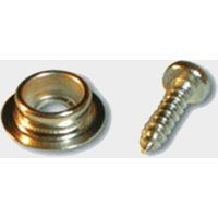 W4 Awning Skirt Studs & Poppers, Silver/POPPERS