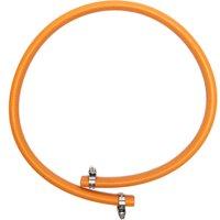Calor Gas 8mm x 1m Hose and Clip, Orange
