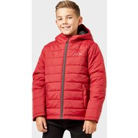 Freedom Trail Kids' Blisco Padded Jacket, Red