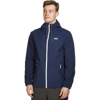 Helly Hansen Mens Marstrand Rain Jacket, Navy