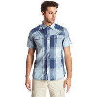 Black Diamond Mens Technician Short Sleeve Shirt, Blue
