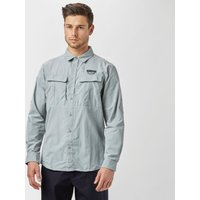 Columbia Mens Cascades Explorer Long Sleeve Shirt, Grey