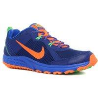 Nike Mens Wild Trail Running Shoe, Blue