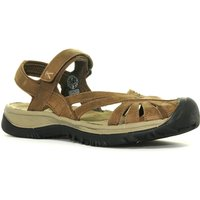 Keen Womens Rose Leather Sandal, Brown
