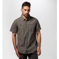 Craghoppers Mens Kiwi Trek Short Sleeve Shirt, Grey