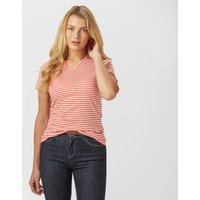 Peter Storm Womens Angel Stripe Tee, Orange