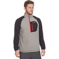 Craghoppers Mens Clifton Half Zip Fleece, Grey