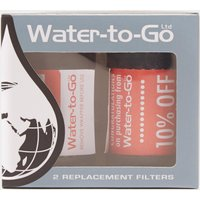 Water-To-Go 2X Replacement Filters - Filter/Filter, FILTER/FILTER