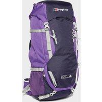 Berghaus Womens Ridgeway 60+10 Rucksack, Purple