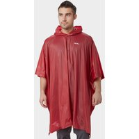 Peter Storm Mens Poncho, Red