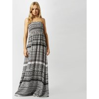 Animal Women's Lucindi Printed Woven Maxi Dress, Black