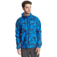 Columbia Mens Flashforward Windbreaker Print Jacket, Blue