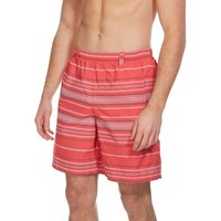 Columbia Mens Backcast Printed Shorts, Red