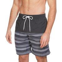 Columbia Mens Lakeside Leisure Printed Drawstring Shorts, Black