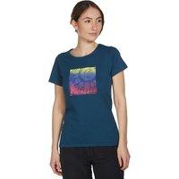 Peter Storm Womens Sunflower T-Shirt, Navy