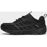 Merrell Kids' Moab FST Low Waterproof Shoes, Black/BLK