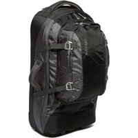 Vango Escape 60+20 Roller Rucksack, Black