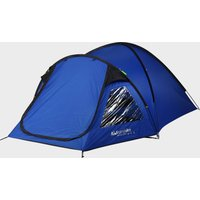 Eurohike Cairns DLX 3 Man Tent, Blue