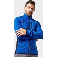 Icebreaker Men's Descender Long Sleeve Zip Fleece, Blue