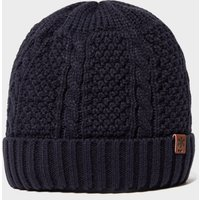 Alpine Men's Fisherman Beanie Hat, Navy/Navy