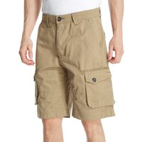 One Earth Mens Cargo Shorts, Beige
