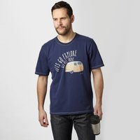 One Earth Mens Gull Graphic Tee, Navy
