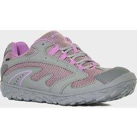 Hi Tec Girls Meridian Low-Cut Waterproof Multi-Sport Shoe, Grey