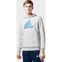 Adidas Kids' Must Have Badge Of Sport Hoodie, Grey