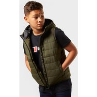 Freedom Trail Kids' Blisco Gilet, Khaki