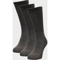 Peter Storm 3 Pack Essential Socks, Grey/GRY