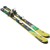 Fischer Sports Ranger 84 Skis with X11 Bindings, Yellow