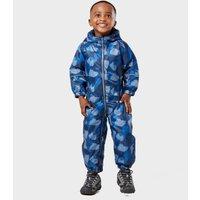 Regatta Kids Splat Puddle Suit - Blue, Blue