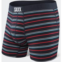 Saxx Men's Vibe Boxer Shorts, Black/MUL