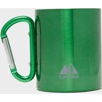 Eurohike Carabiner Mug - Green, Green