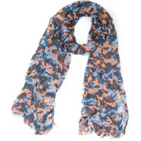 One Earth Womens Cotton Camo Scarf, Multi