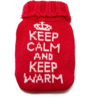 Summit Reusable Knitted Cover Heat Pack, Red