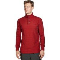 Brasher Mens Grasmoor Pullover Fleece, Red