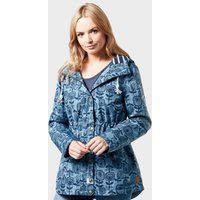 Weird Fish Womens Agnes Showerproof Jacket - Blue/Jkt, Blue/JKT