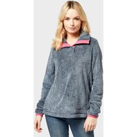 Weird Fish Women's Tavia Half-Zip Fleece, Grey