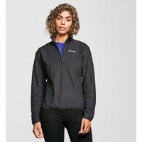 Berghaus Women's Hendra Half-Zip Fleece, Black