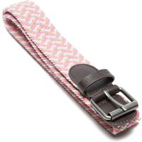 One Earth Womens Plait Belt, Pink