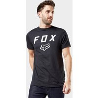 Fox Legacy Moth Short Sleeved Tee - Blk/Blk, BLK/BLK