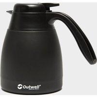 Outwell 0.6L Aden Vacuum Flask - Black, Black