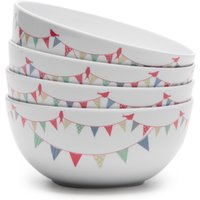 Eurohike Bowls Set of Four, Cream