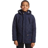 Peter Storm Boys Wade Quilted Jacket, Navy