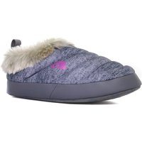 The North Face Womens Nse Tent Mule Faux Fur II Slipper, Grey