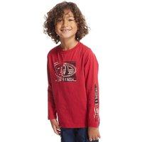 Animal Boys Board Long Sleeve T-Shirt, Red