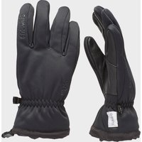 Snowlife Men's Softshell Gloves, Black
