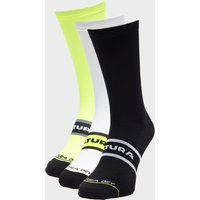 Altura Elite Socks Triple Pack, Yellow