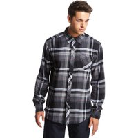 Marmot Mens Anderson Flannel Long Sleeve Shirt, Black